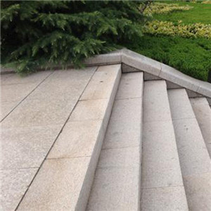 广场的楼梯踏步