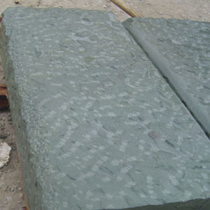 绿砂岩路边石